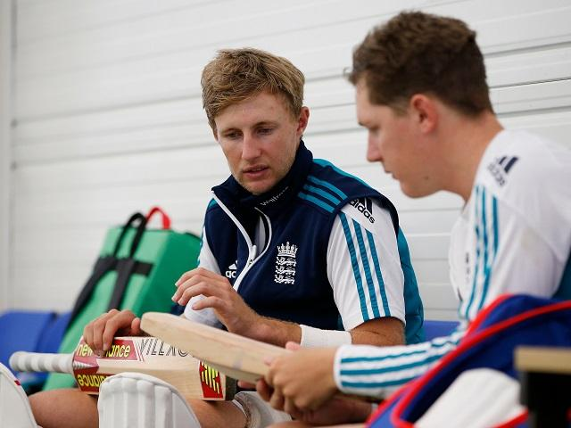 Mates - Joe Root and Gary Ballance have been friends since they shared digs